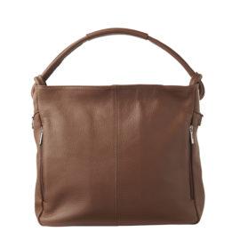 Rummelig håndtaske med mange fine design detaljer