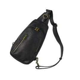 bæltetaske i sort