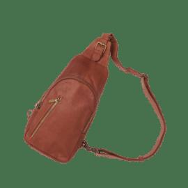 Sophia taske i brun læder